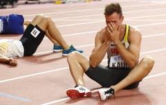 Unglaubliche Aufholjagd: Niklas Kaul aus Deutschland war im Zehnkampf nach Tag 1 noch Elfter - nun ist er Weltmeister. (Bild: Keystone)