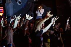 Zufriedenes Publikum. (Bild: Patrick Huerlimann, Zug, 5. Oktober 2019)