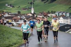 Renate Bader aus Bremgarten, Lynn Burkart aus Stans, Franz Krummenacher aus Zürich und Beatrice Huser aus Luzern.