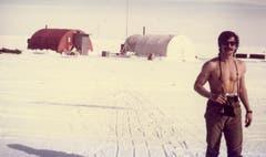 Ein russischer Kollege Stocklins beim Sonnenbaden. (Bild: Archiv Tony Stocklin)