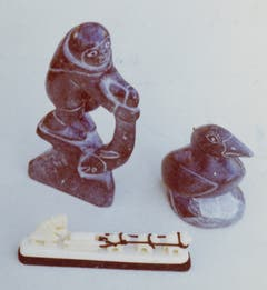 Auch Eskimokunst fasziniert Stocklin. (Bild: Archiv Tony Stocklin)