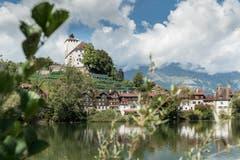 Das Schloss Werdenberg gehört dem Kanton St.Gallen und ist öffentlich zugänglich. Im Museum wird eine Dauerausstellung gezeigt. (Bild: Hanspeter Schiess)