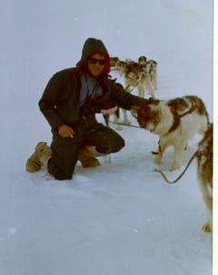 Schlittenhunde waren gern gesehen. (Bild: Archiv Tony Stocklin)