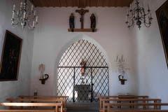 In der Kapelle auf Schloss Oberberg haben sich schon zahlreiche Brautpaare das Ja-Wort gegeben. (Bild: Michel Canonica)