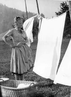 1962 - Liselotte Pulver in «Kohlhiesels Töchter». (Bild: Keystone).