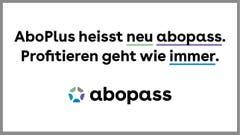 AboPLUS heisst neu abopass.