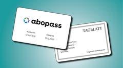 Beispiel abopass-Karte