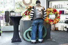 Ein Blumenkranz. (Bild: KEYSTONE/Alexandra Wey, Luzern, 10. November 2019)