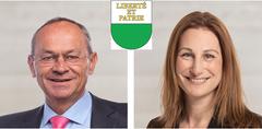 WaadtOlivier Français (FDP, 86'354 Stimmen)Adèle Thorens Goumaz (Grüne, 83'031 Stimmen)