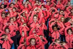 In Kreuzlingen fand das Schauturnen der Gymnastikgruppe Kreuzlingen statt. (Bild: Andrea Stalder)