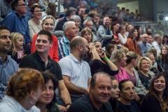 Das Schauturnen Gymnastikgruppe Kreuzlingen. (Bild: Andrea Stalder)