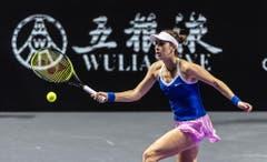 Ihr letztes Turnier hat Bencic dieses Jahr in Shenzhen bestritten, wo sie an den WTA Finals der acht Jahresbesten teilnehmen konnte. (Bild: Keystone)