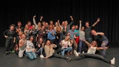 Grossartige Stimmung im 24-köpfigen Cast von «Rock of Ages» während der aktuellen Proben im Le Théâtre.