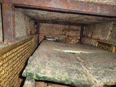 Wissenschaftlern ist es gelungen, mit kleinen Kameras das Innere des letzten unangetasteten Kaisergrabs Europas zu erforschen. (Bild: KEYSTONE/APA/DOMBAUHÜTTE ZU ST. STEPHAN/UNBEKANNT)