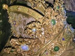 Gesamtansicht der Krone von Kaiser Friedrich III. (Bild: KEYSTONE/APA/DOMBAUHÜTTE ZU ST. STEPHAN/UNBEKANNT)