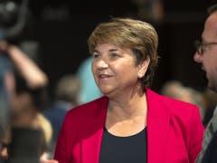 Will Nägel mit Köpfen in der Klimapolitik: CVP-Bundesrätin Viola Amherd. (Bild: KEYSTONE/GEORGIOS KEFALAS)