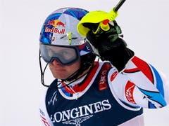 Alexis Pinturault gewinnt erstmals an einem Grossereignis eine Goldmedaille (Bild: KEYSTONE/EPA/VALDRIN XHEMAJ)