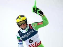 Stefan Hadalin gewinnt als erster Slowene eine WM-Medaille in der Kombination (Bild: KEYSTONE/APA/APA/EXPA/DOMINIK ANGERER)