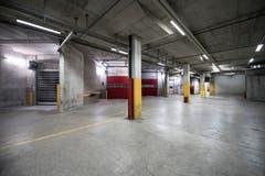 Ein leer stehender Raum.