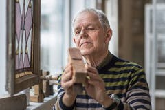 Otto Vogel: «Es ist mir ein Anliegen, mein Wissen als Schreiner und Fensterbauer weiterzugeben.»