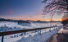 Der Höhenweg in Herisau. (Bild: Luciano Pau)