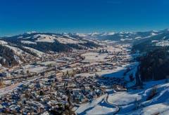 Blick über Wattwil Richtung Churfirsten. (Bild: Renato Maciariello)