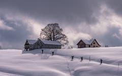 Kommt die Sonne in Schwellbrunn oder nicht? (Bild: Luciano Pau)