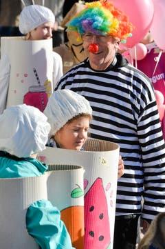 Kinderfasnachtsumzug in Ottoberg. (Bild: Donato Caspari)