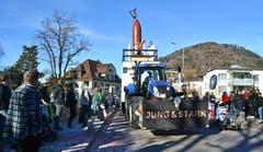 Fasnachts-Umzug in Wattwil. (Bild: Peter Jenni, 17.02.2019)
