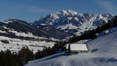 Säntis in seiner ganzen Pracht, bei Hochschwand Ebnat-Kappel. (Bild: Martin Giger)