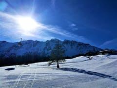 Perfektes Wintersportwetter im Sörenberg. (Bild: Urs Gutfleisch, Sörenberg, 19. Februar 2019)