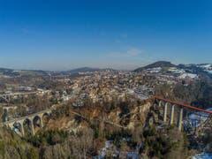 Blick von Westen auf St.Gallen. (Bild: Renato Maciariello)