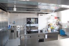Blick in die neue Küche des Frauenklosters.