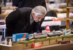 Amriswil TG - Erstmals wurde im Pentorama Amriswil eine Spielwaren- und Modelleisenbahn-Börse durchgeführt. Das Interesse war laut dem Organisator gross.