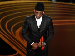 Mahershala Ali hat den Oscar für den besten Nebendarsteller in «Green Book» gewonnen. (Bild: KEYSTONE/AP Invision/CHRIS PIZZELLO)