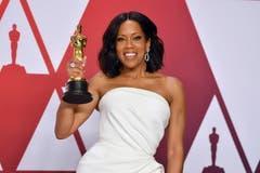 Regina King gewinnt für ihre Rolle in «If Beale Street Could Talk» den Oscar als beste Nebendarstellerin. (Photo by Jordan Strauss/Invision/AP)