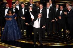 «Green Book» erhält den Oscar in der Kategorie bester Film. «Green Book» gewann auch den Oscar für das beste Originaldrehbuch. (Photo by Chris Pizzello/Invision/AP)