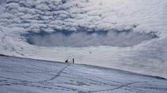 Besonderes Wolkenspiel in Schönengrund. (Bild: Luciano Pau)
