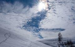 Wolkenspiel in Schönengrund. (Bild: Luciano Pau)