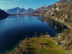 Blick auf Weesen beim Walensee (Bild: Renato Maciariello)