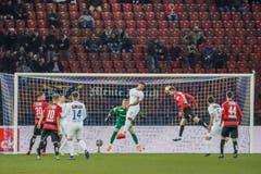 Saleh Chihadeh erzielt noch in der ersten Halbzeit den Krienser Ausgleich zum 1:1.(Bild: Andy Müller/freshfocus (Zürich, 28. Februar 2019))