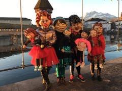 Dieses Gruppe in der Luzerner Morgensonne hat Leserin Doris Schoch fotografiert.