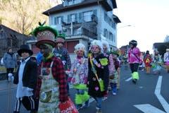 Impressionen vom Kinderumzug Wolfenschiessen. (Bild: Franz Niederberger, 28. Februar 2019)