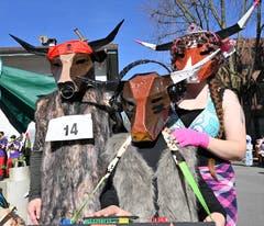 Auch lustige Kühe aus Alpnach ...
