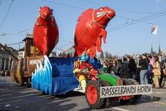 Rasselbandi Horw mit dem Motto Horwer Narren-Zucht. (Bild: Philipp Schmidli)