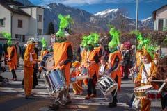 Farbige Impressionen vom Kinderumzug in Altdorf am Schmutzigen Donnerstag. (Bild: Leserin Rochelle Harwin)