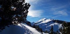 Auf dem Schneeschuhtrail zwischen Ebenalp und Klus. (Bild: Klaus Businger)