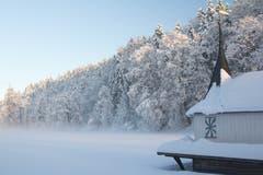 Wintermärchen bei den Drei Weihern. (Bild: Antje Hofmann)
