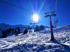 Perfektes Wintersportwetter am heutigen Tag in Sörenberg. (Bild: Urs Gutfleisch, Sörenberg, 5. Februar 2019)