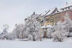 Winter am Wiler Weiher. (Bild: Antje Hofmann)